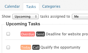 Tasks
